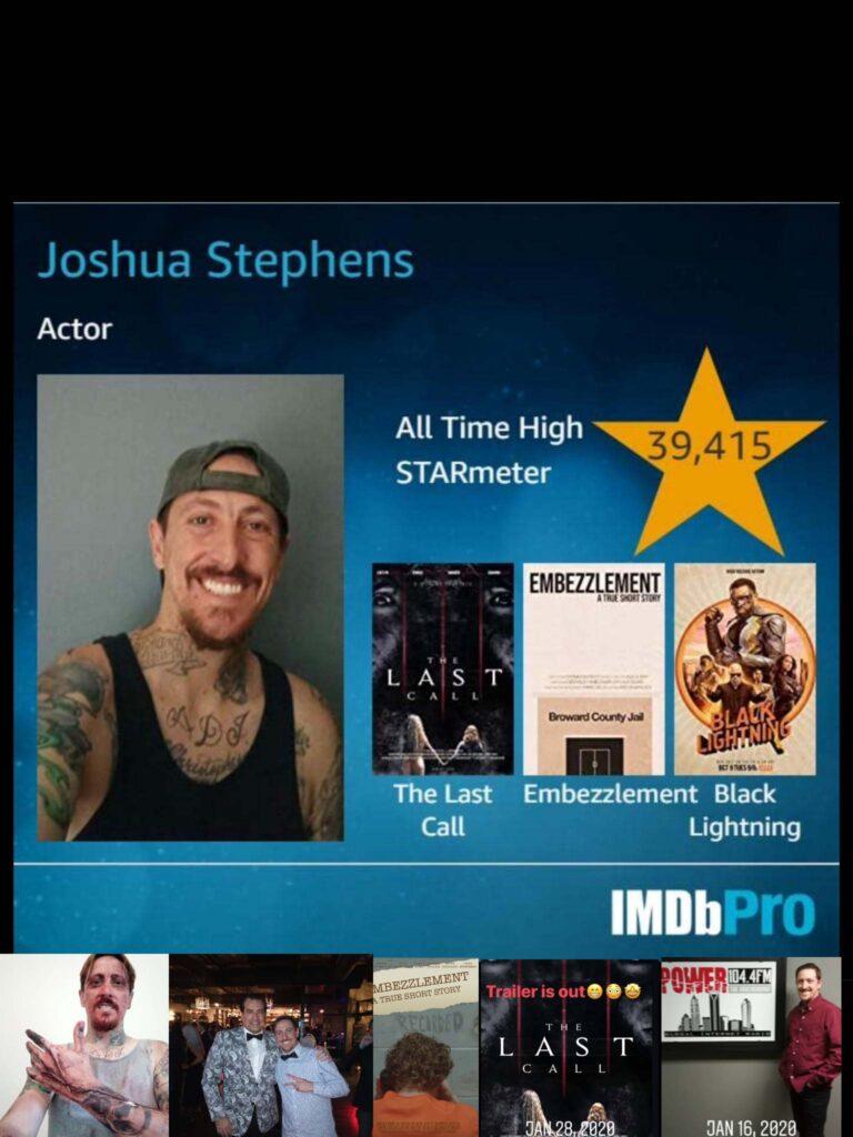 actor JOSHUA YOSHIE STEPHENS