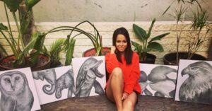 actress elicia davies interview on celebz treasure