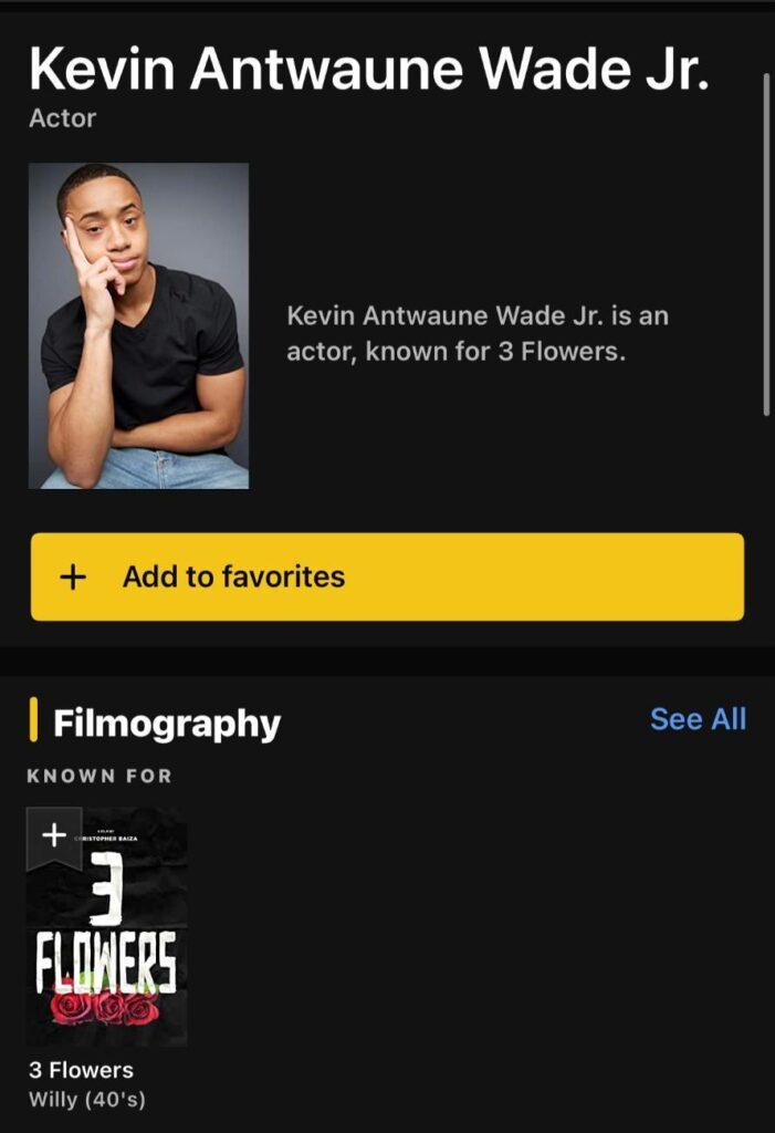Kevin Wade Actor