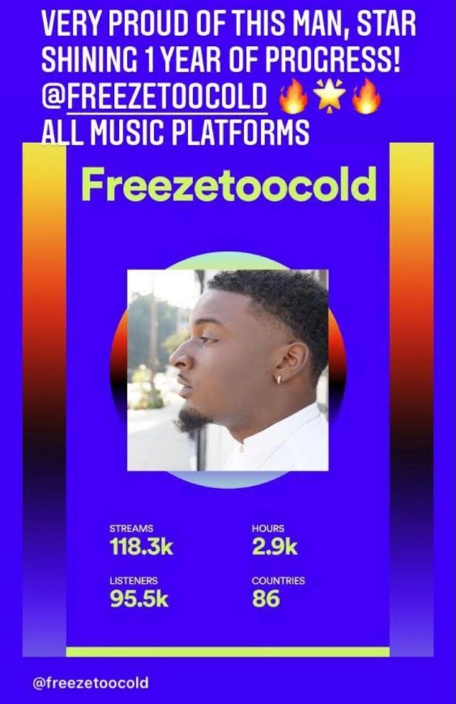 Freeze to Cold music